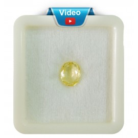 Yellow Sapphire Sup-Pre 3+ 2.2ct