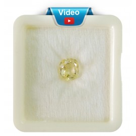 Yellow Sapphire Sup-Pre 3+ 2.1ct
