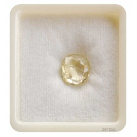Lab Certified Yellow Sapphire Fine 6+ 4ct
