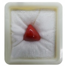 Certified Red Coral Premium 11+ 6.8ct