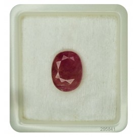 Burmese Ruby Gemstone Sup-Pre 8+ 5.15ct